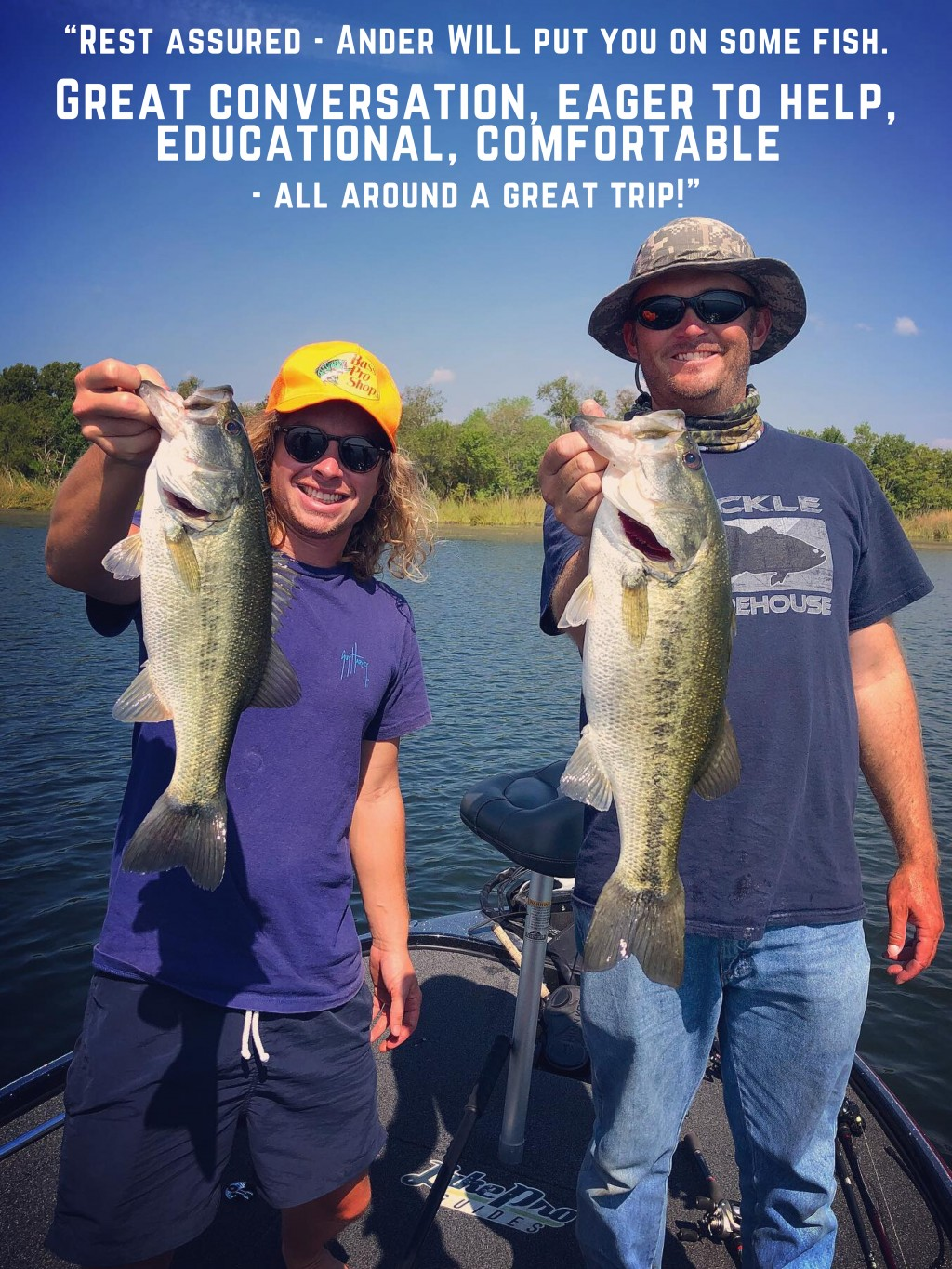 texas bass fishing guides