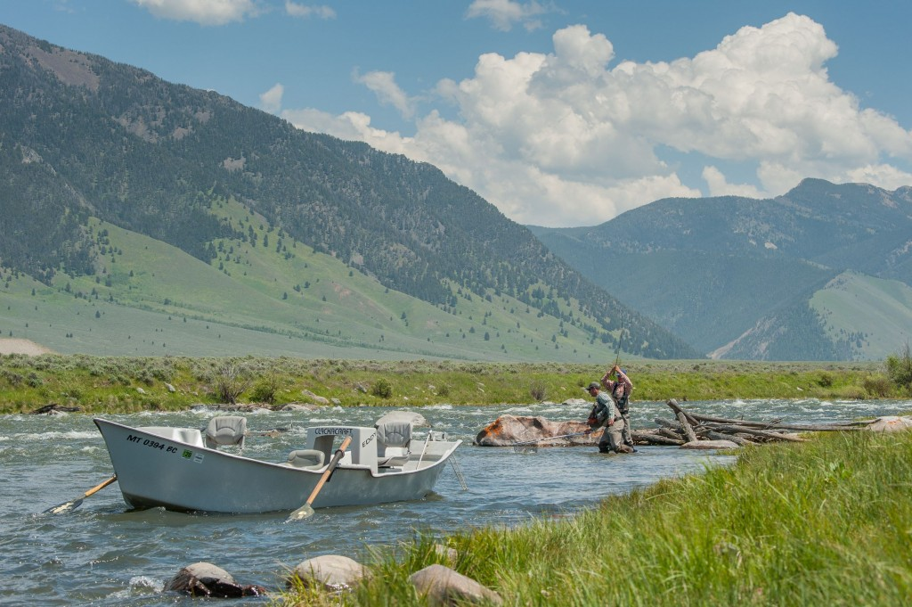 yellowstone fly fishing guides