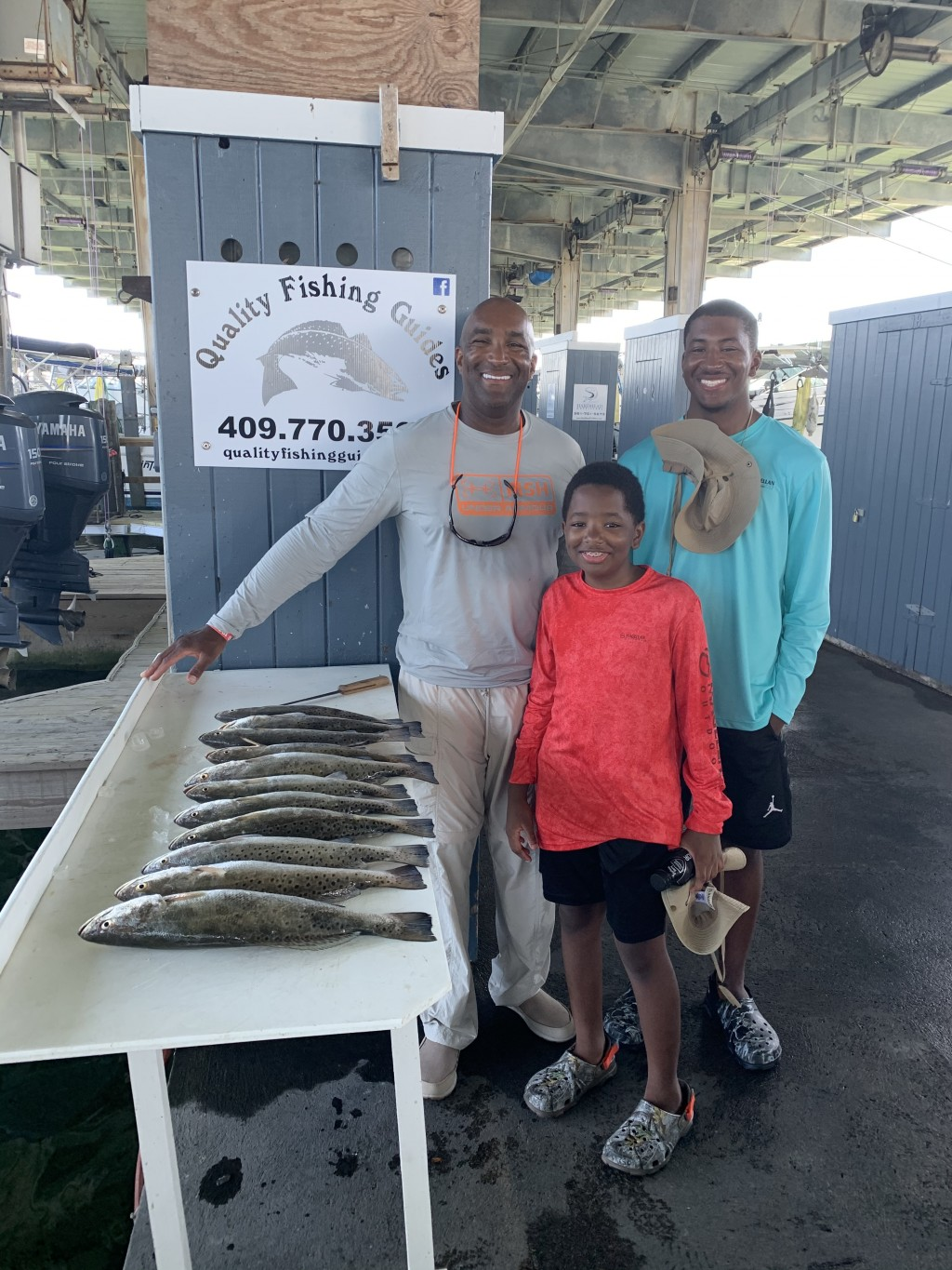 galveston speckled trout fishing trips