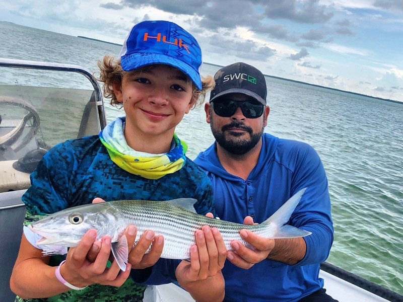 Islamorada backcountry fishing fl