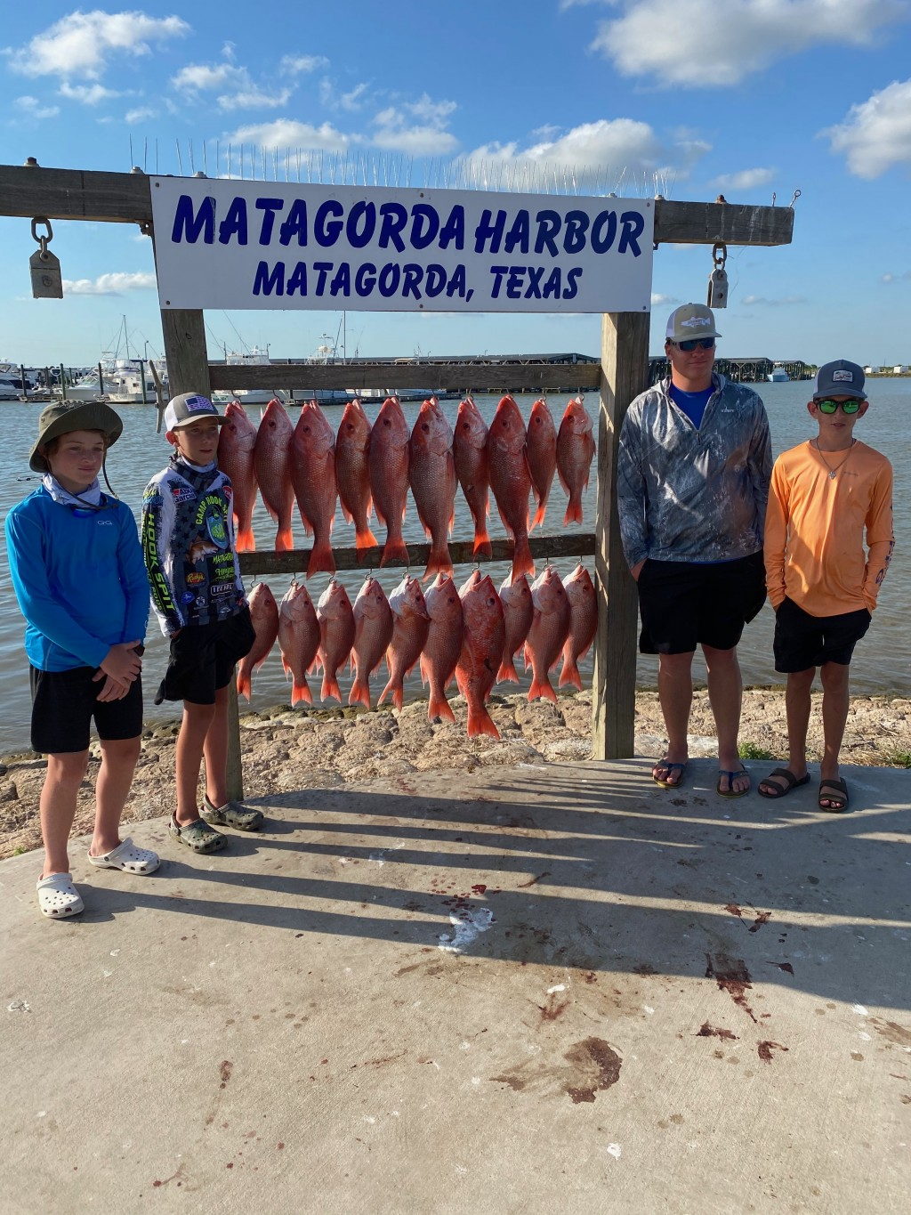 Matagorda fishing charters cheap in tx