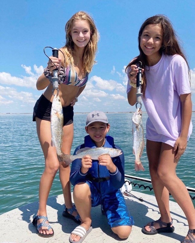 Port Aransas fishing charters tx