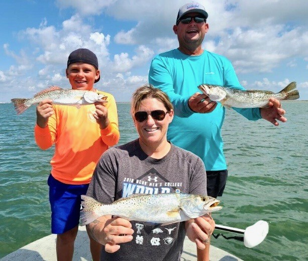 Port Aransas fly fishing guides tx