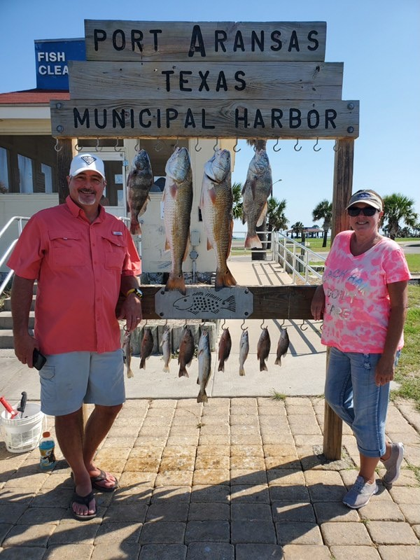 Port Aransas offshore fishing charters