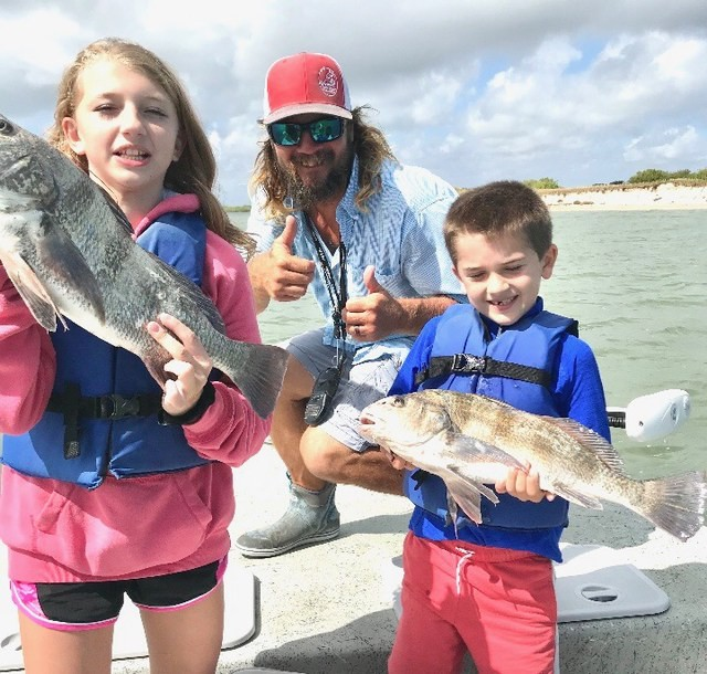 Port Aransas sport fishing