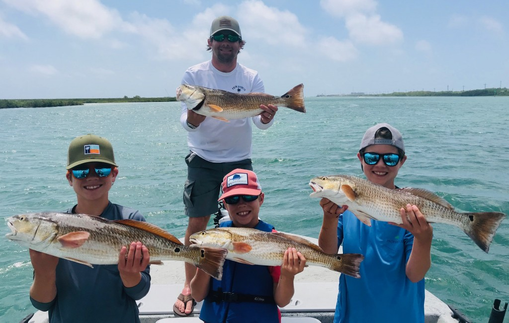 Port Aransas texas  backcountry fishing charters