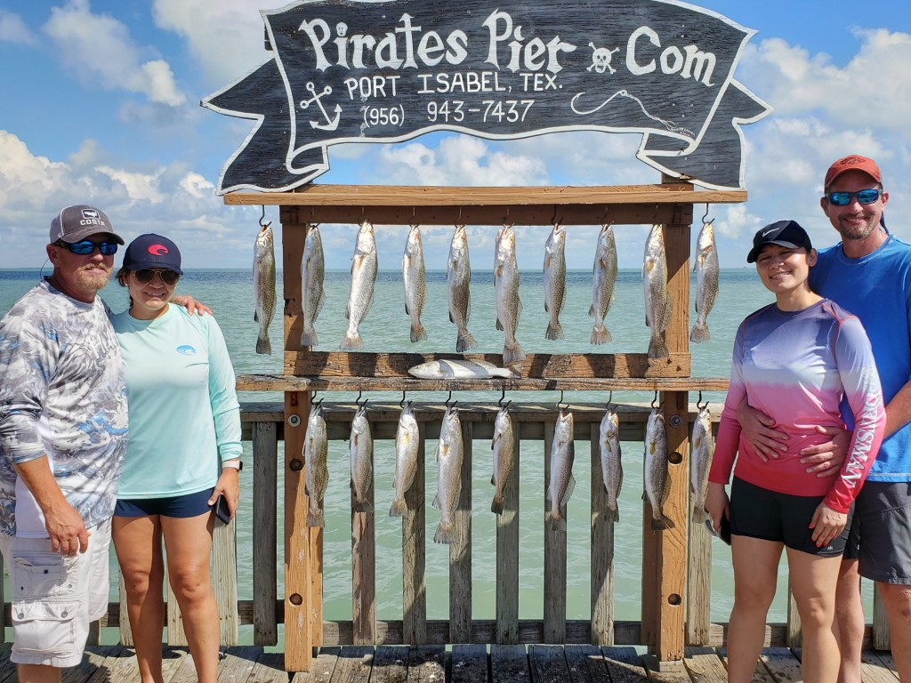 dauntless fishing Padre Island
