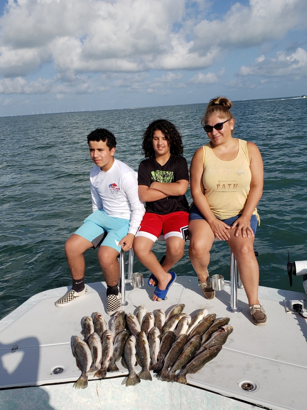 Padre Island reef fishing
