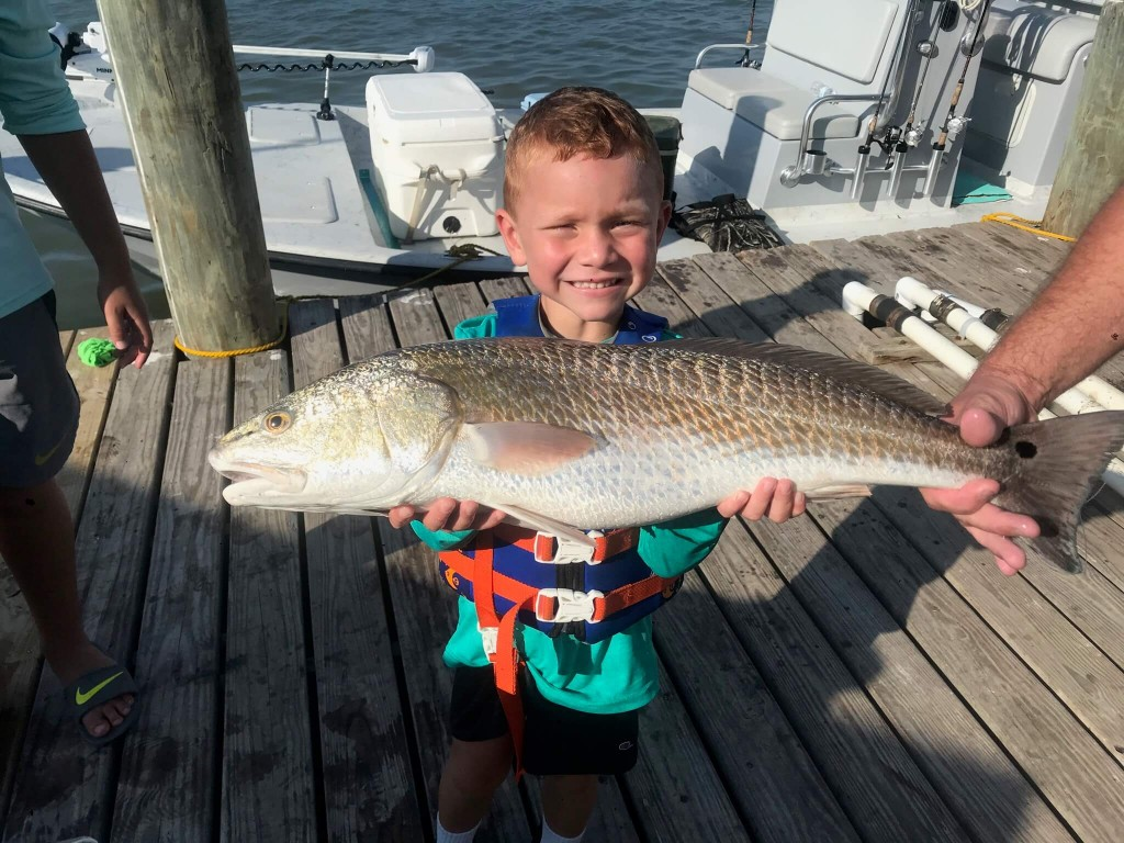 Port O'Connor nearshore fishing charter