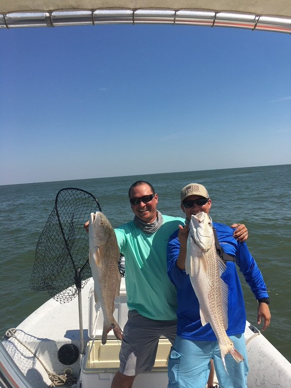 Texas City backcountry fishing charters