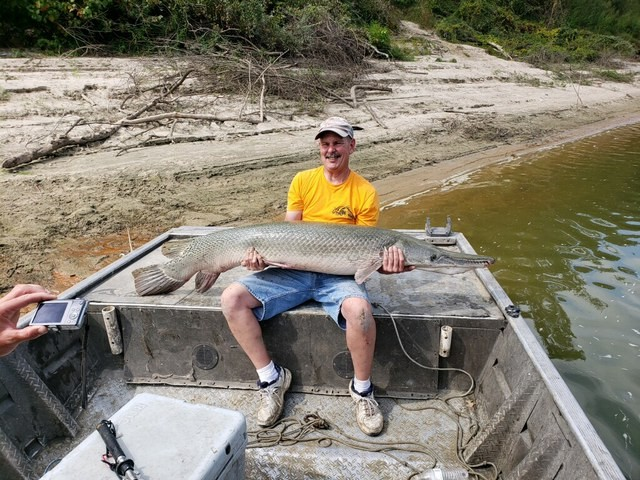 Trinity River charter trips