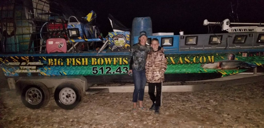 trinity river fearless bow fishing