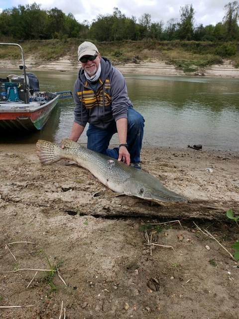 Trinity River Texas fishing guides