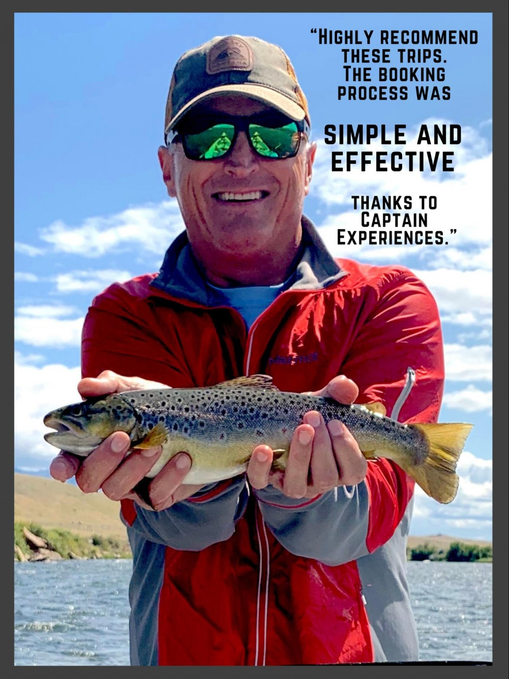 Fishing review of captain experiences trout trip