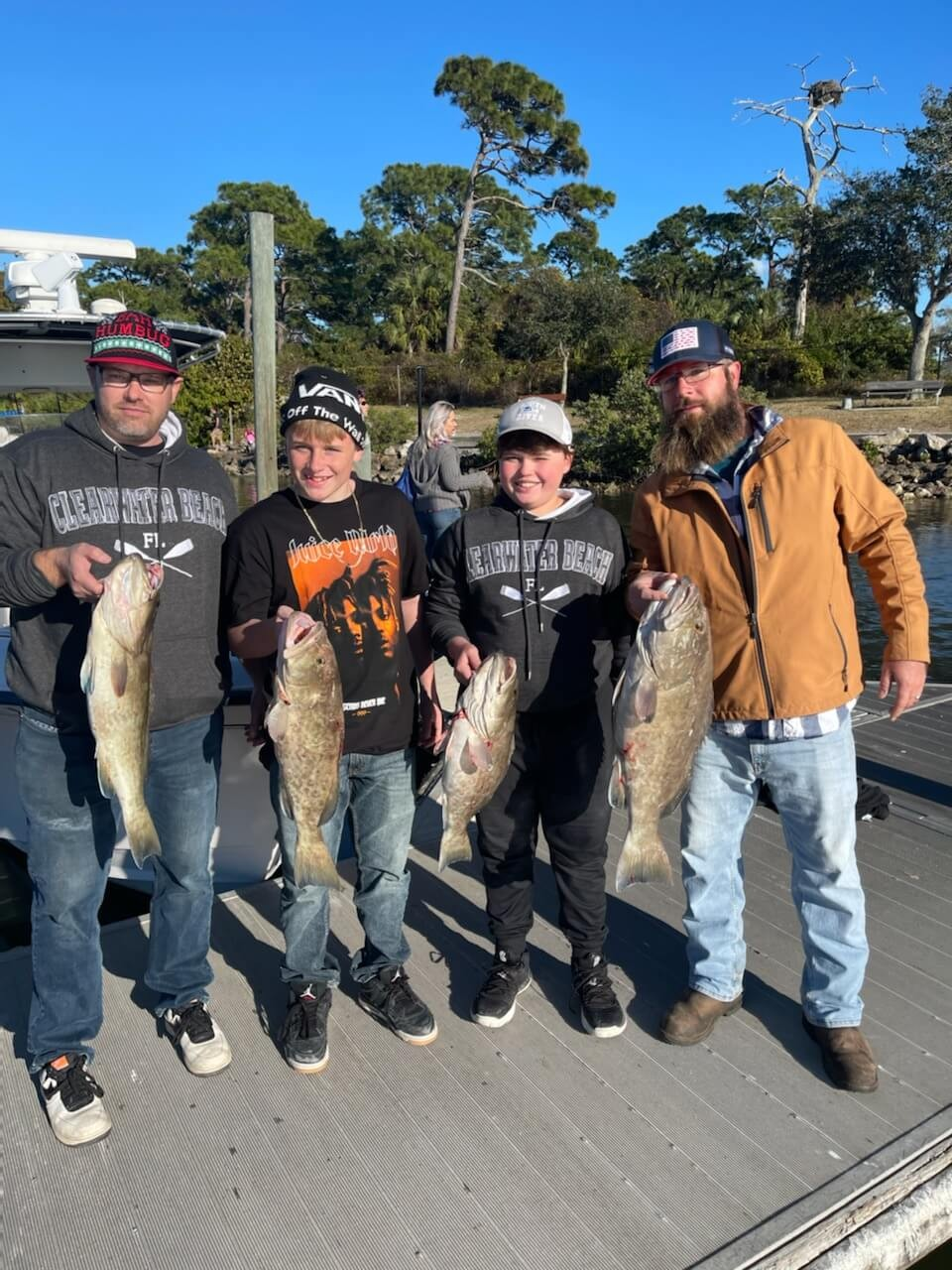 clearwater inshore fishing guides