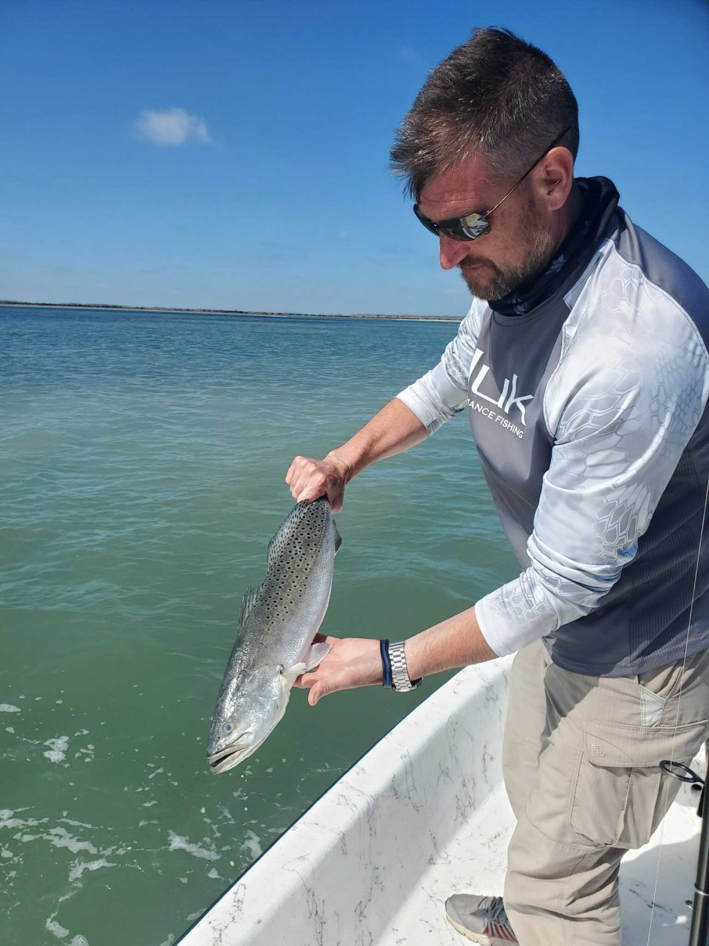 speckled trout fish kill