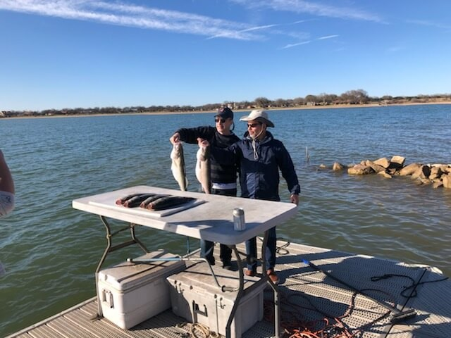 Lake Buchanan fishing charter