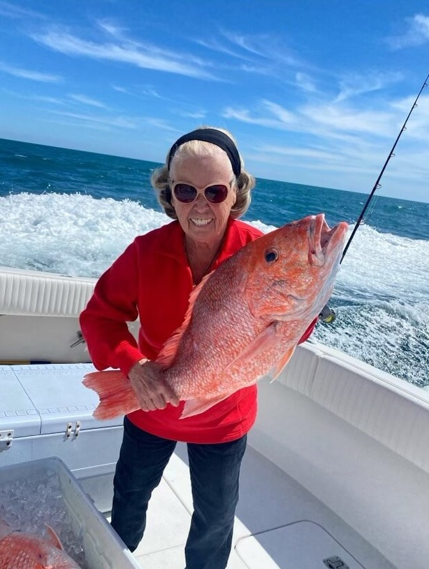 Pictures from [Captain Ann Johnston's](https://captainexperiences.com/texas/freeport-fishing-charters/1282/billfish-trip-54-hatteras) Freeport, Texas fishing trip.