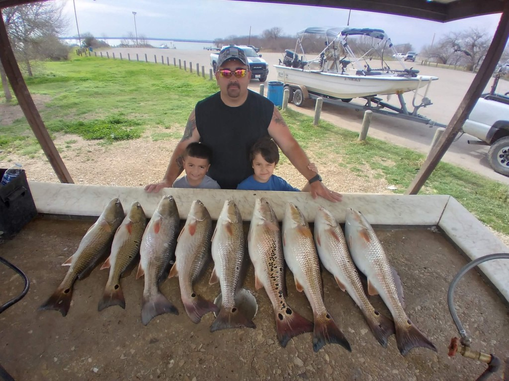 Pictures from [Captain Bryan Cantu's](https://captainexperiences.com/texas/san-antonio-fishing-guides/122/half-day-or-full-day-freshwater-redfish) Galveston Texas, fishing trips.