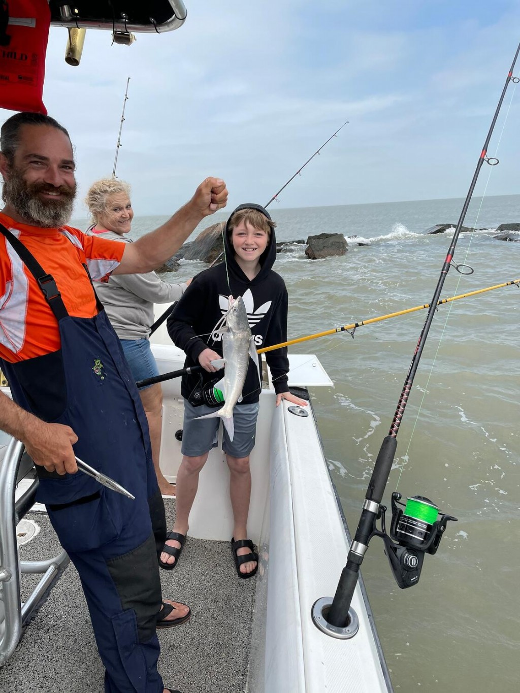 Action pack fishing trip