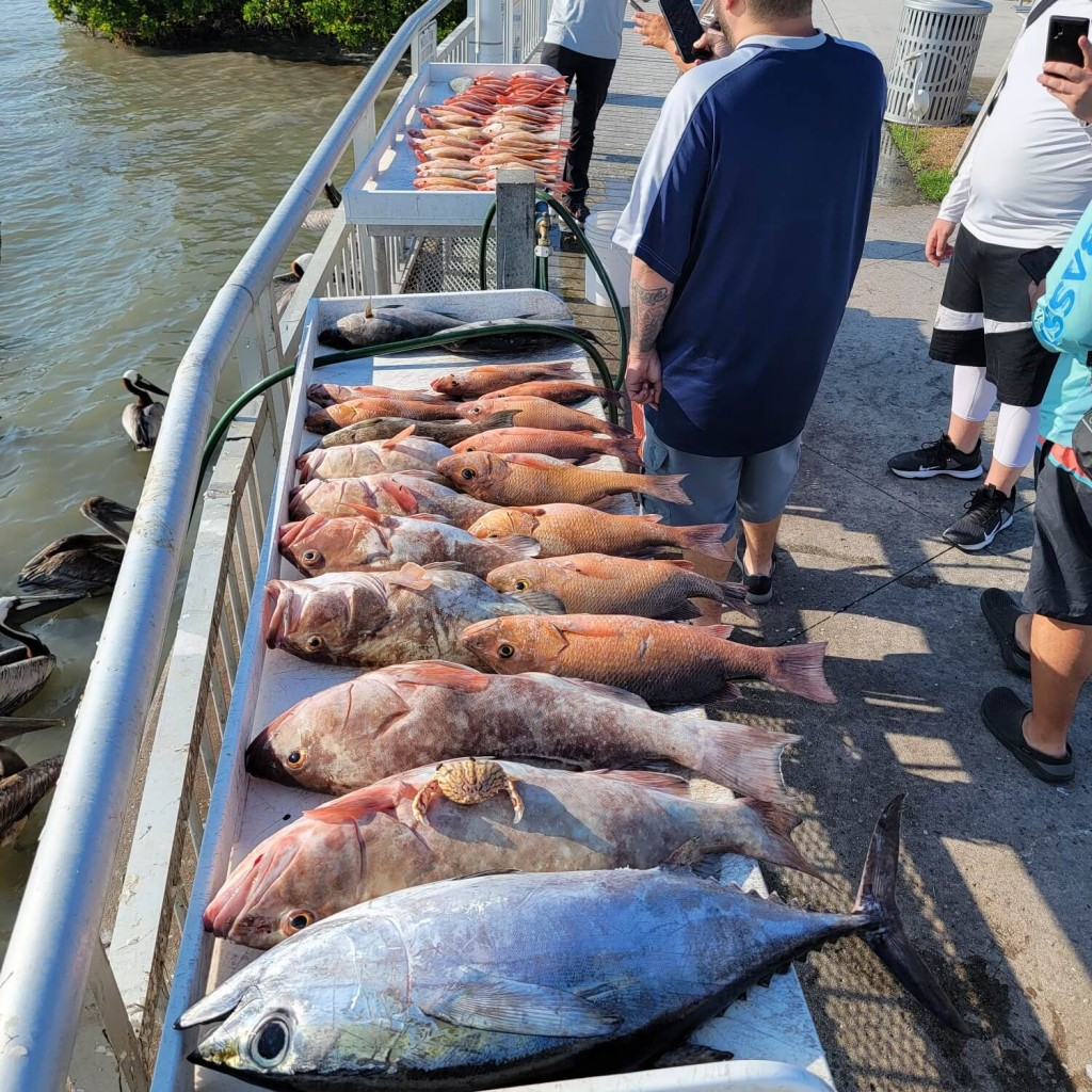 clearwater fishing package