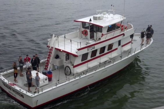"""Charter Boat """"TradeWinds"""" 8 Hour Trip 