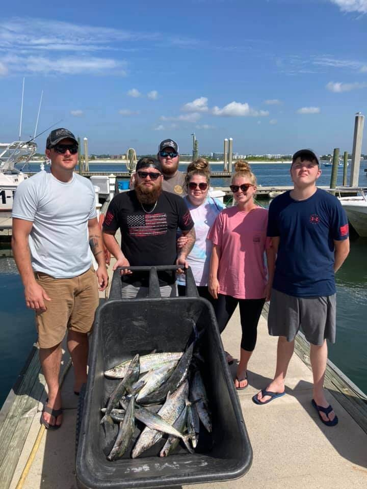 Half Day Trip – Nearshore Trolling | Captain Experiences