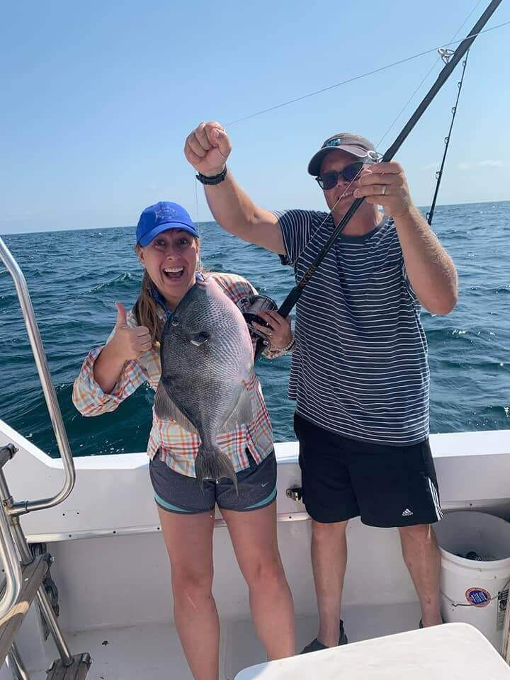6 Hour Bottom Fishing - 36' Hatteras | Captain Experiences