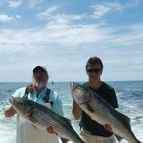 Nighttime Striped Bass - 41' Hatteras   Captain Experiences
