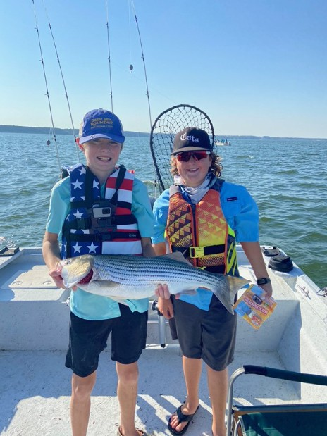 Lake Whitney Striped and White Bass | Captain Experiences