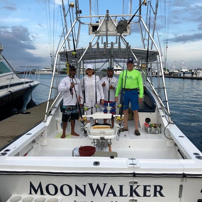 Moonwalker - Full Day or Half Day Nearshore Fishing Trip   Captain Experiences
