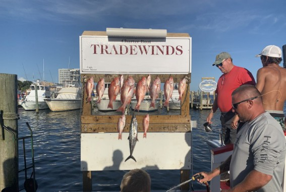 "Charter Boat ""TradeWinds"" 10 Hour Trip 