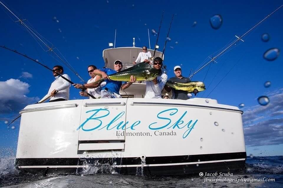 5 hour or 4 hour Fishing Trip - Blue Sky 43' Riviera   Captain Experiences