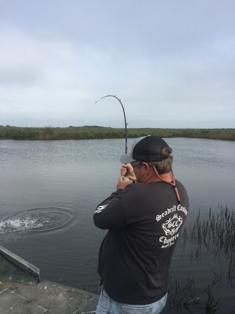 Full Day Airboat Redfishing | Captain Experiences
