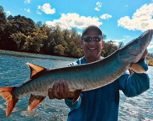 Tennessee Musky Fishing   Captain Experiences