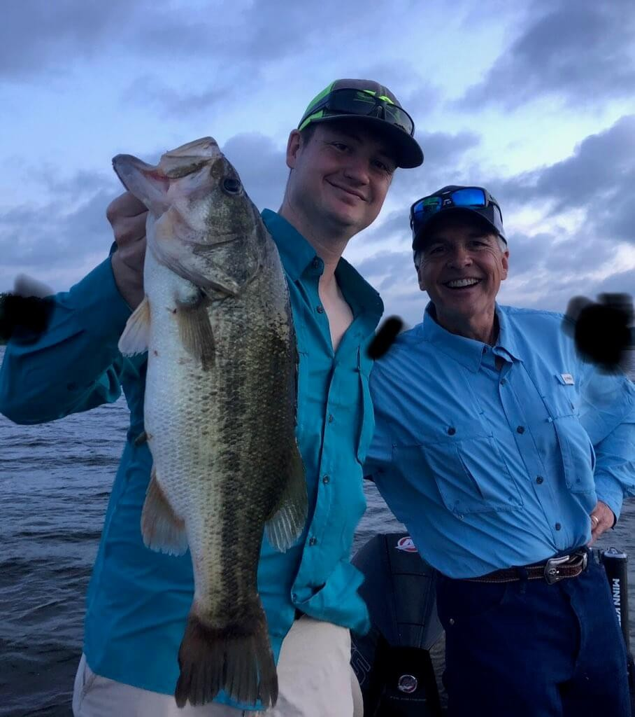 Lake Fork Bass Fishing Guide Marc Mitchell's Full Day Trip