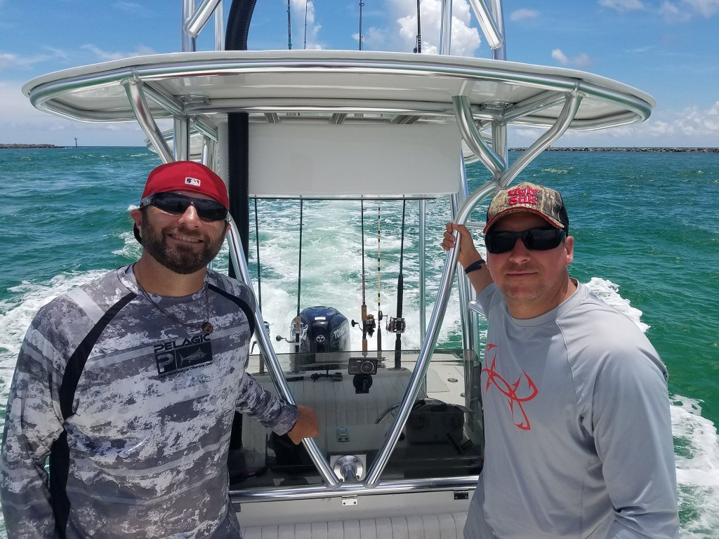 Full Day, 3/4 Day or (Half-day AM/PM Option) - 22' Cape Horn center console | Captain Experiences