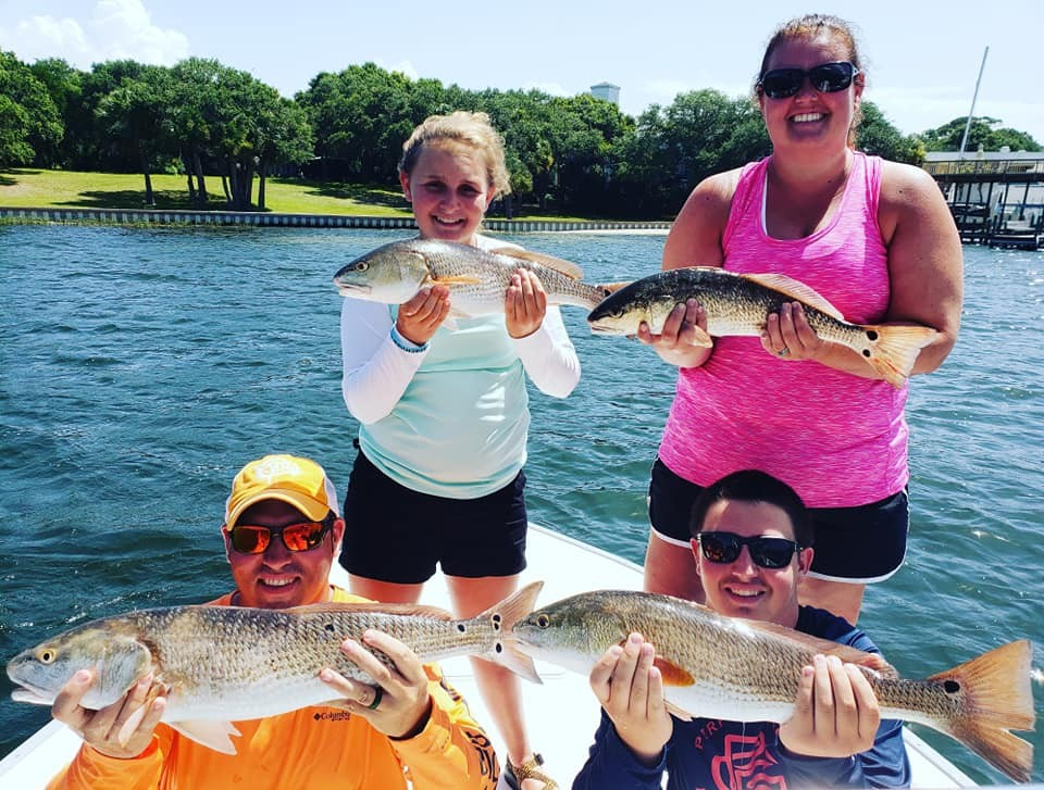 4 Hour Afternoon or Night Bay/Gulf Fishing - 22' Cape Horn center console II | Captain Experiences