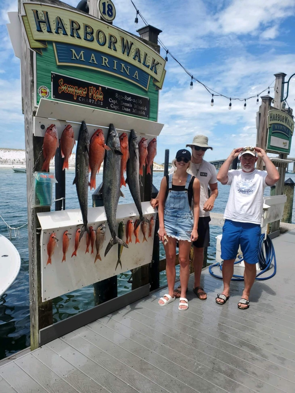 Experience Destin fishing to the full - 25' Cape Horn center console | Captain Experiences