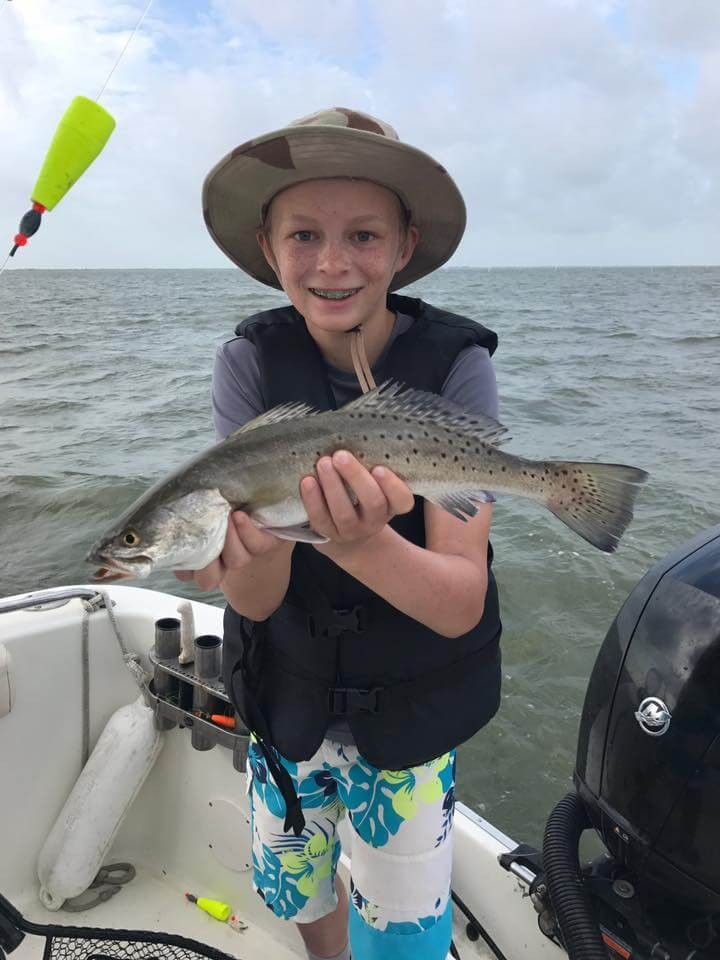 26' Angler Speckled Trout   Captain Experiences