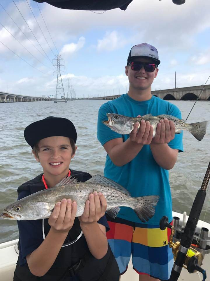 26' Angler Speckled Trout | Captain Experiences